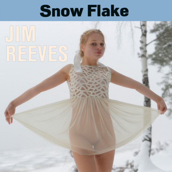 Cover Artwork Remix of Jim Reeves Snow Flake