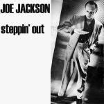 Original Cover Artwork of Joe Jackson Steppin Out