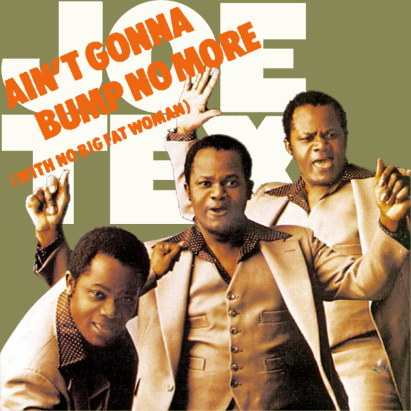 Original Cover Artwork of Joe Tex Aint Gonna Bump