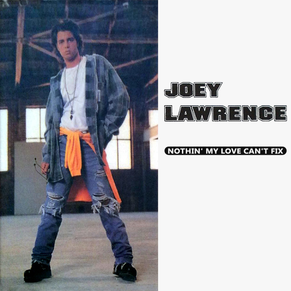Original Cover Artwork of Joey Lawrence Nothin My Love Cant Fix