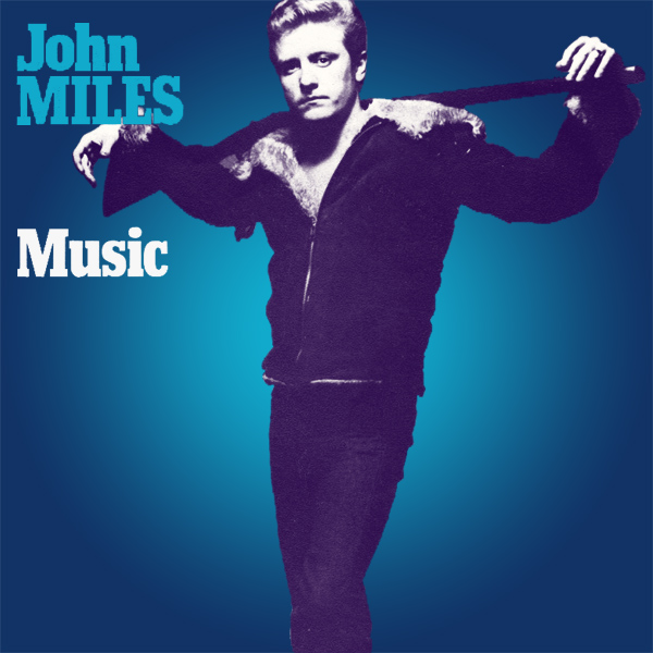 Original Cover Artwork of John Miles Music