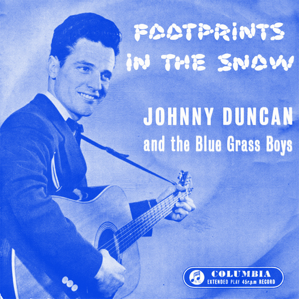 johnny duncan footprints in the snow 1