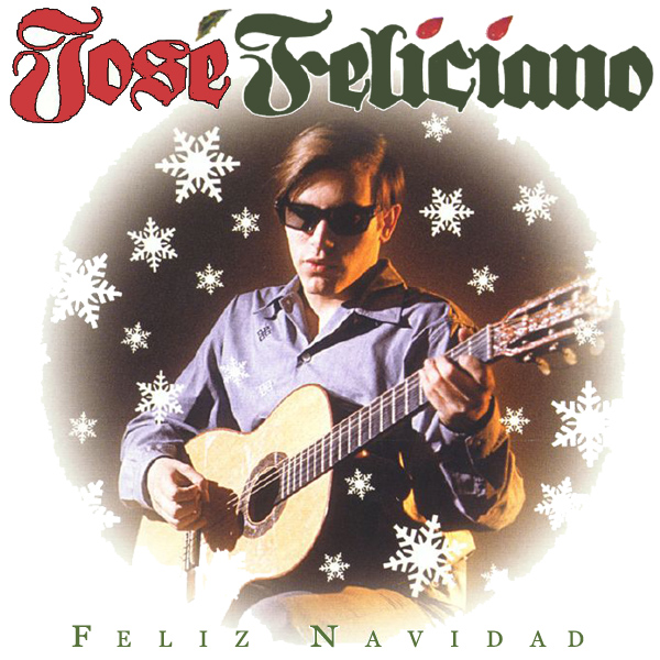 Original Cover Artwork of Jose Feliciano Feliz Navidad