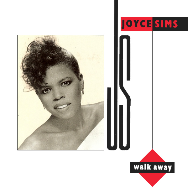 Original Cover Artwork of Joyce Sims Walk Away