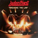 Original Cover Artwork of Judas Priest Breaking The Law
