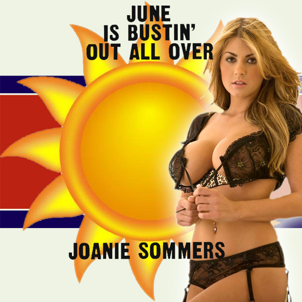 june is bustin out all over joanie sommers 2