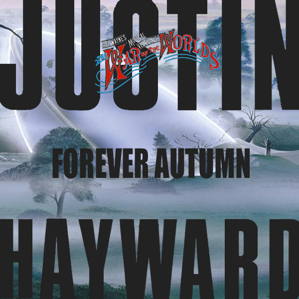 Original Cover Artwork of Justin Hayward Forever Autumn