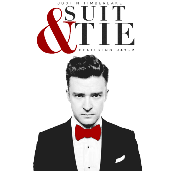 Original Cover Artwork of Justin Timberlake Suit Tie