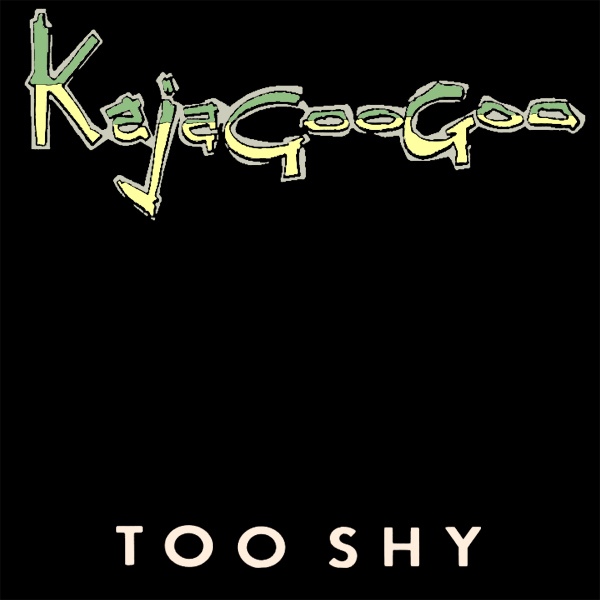 Original Cover Artwork of Kajagoogoo Too Shy