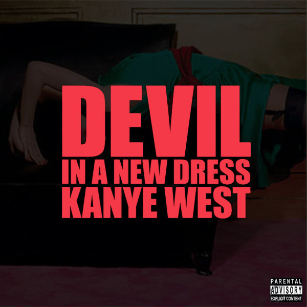 Original Cover Artwork of Kanye West Devil Dress