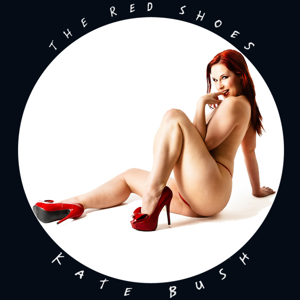 Cover Artwork Remix of Kate Bush Red Shoes