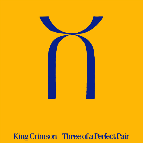 Original Cover Artwork of King Crimson 3 Perfect Pair