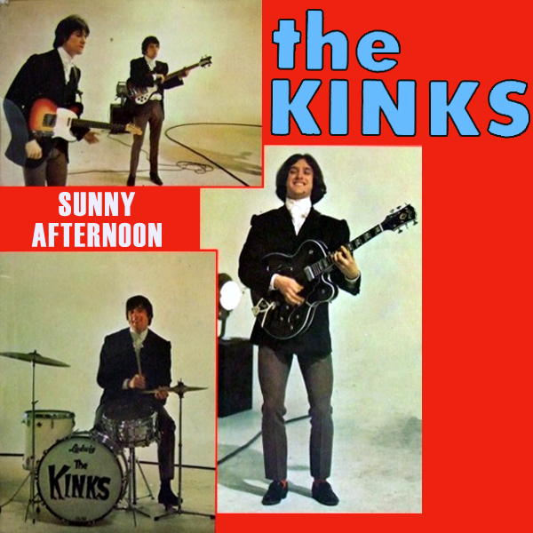 Original Cover Artwork of Kinks Sunny Afternoon