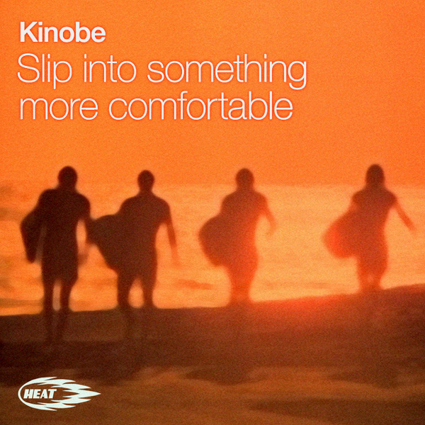 Cover artwork for Slip Into Something More Comfortable - Kinobe