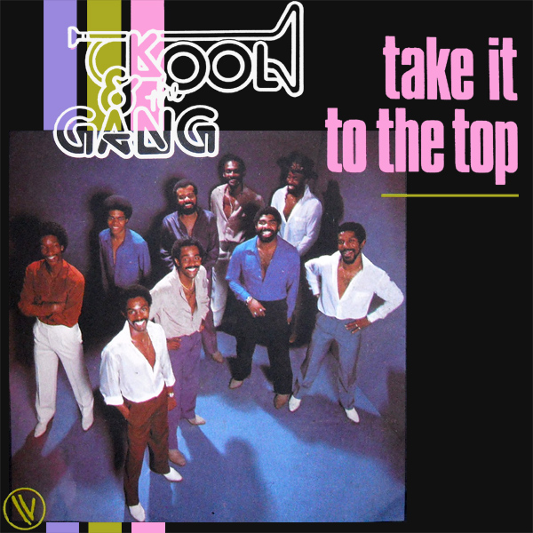 Original Cover Artwork of Kool And The Gang Take It To The Top