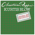 Original Cover Artwork of Kurtis Blow Christmas Rappin
