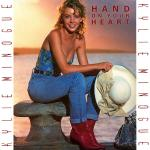 Original Cover Artwork of Kylie Minogue Hand On Heart