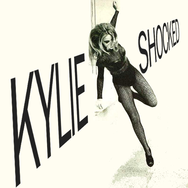Original Cover Artwork of Kylie Minogue Shocked