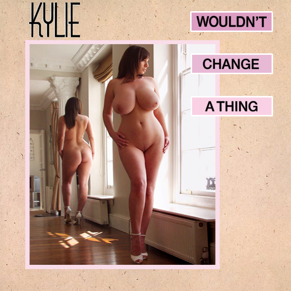Cover Artwork Remix of Kylie Minogue Wouldnt Change A Thing