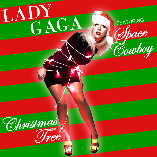 lady gaga christmas tree 1