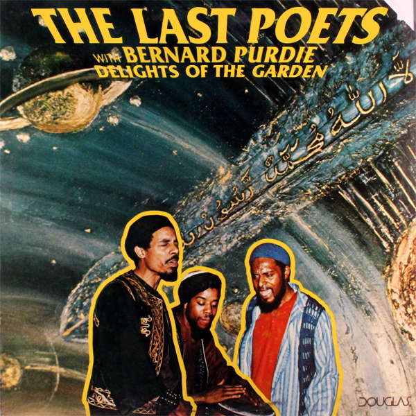 Original Cover Artwork of Last Poets Garden Delight