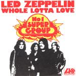 Original Cover Artwork of Led Zeppelin Whole Lotta Love