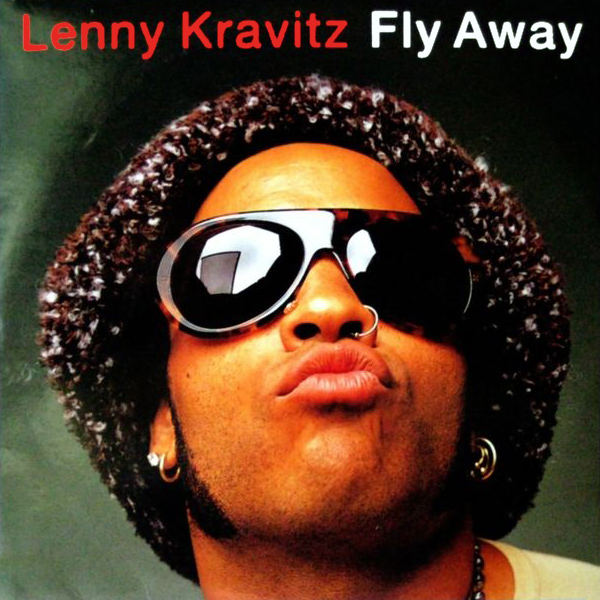 Original Cover Artwork of Lenny Kravitz Fly Away