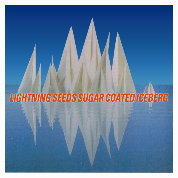 Original Cover Artwork of Lightning Seeds Sugar Coated Iceberg