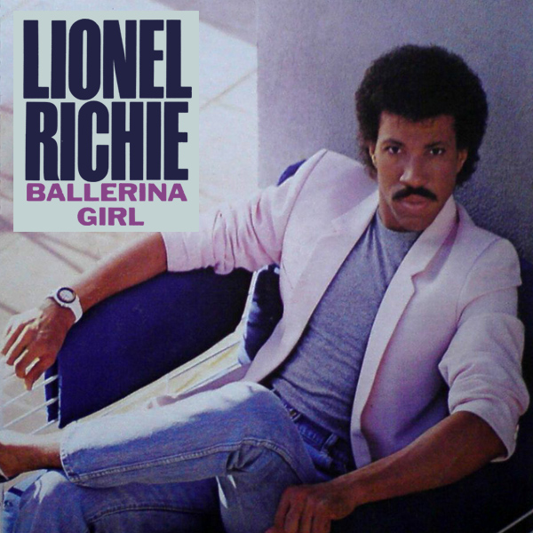 Original Cover Artwork of Lionel Richie Ballerina Girl