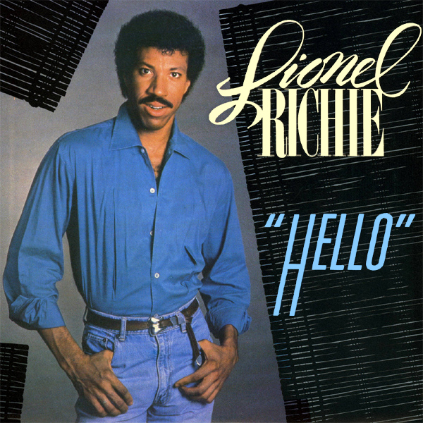 Original Cover Artwork of Lionel Richie Hello