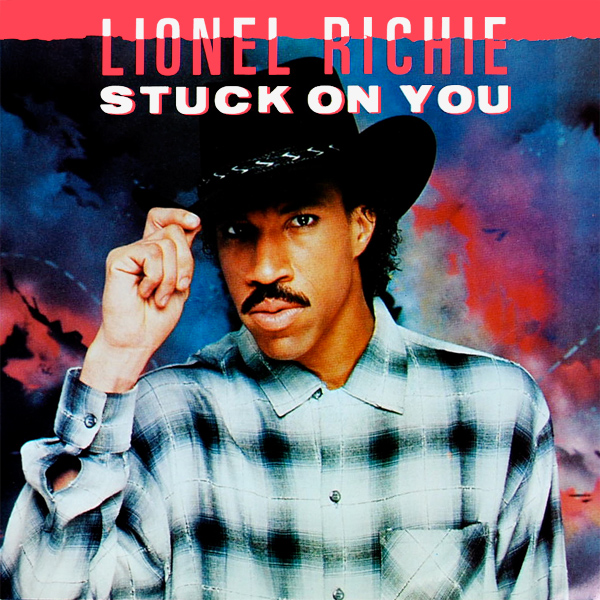 lionel richie stuck on you 1