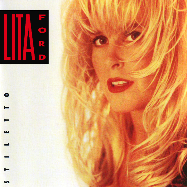 Original Cover Artwork of Lita Ford Stiletto