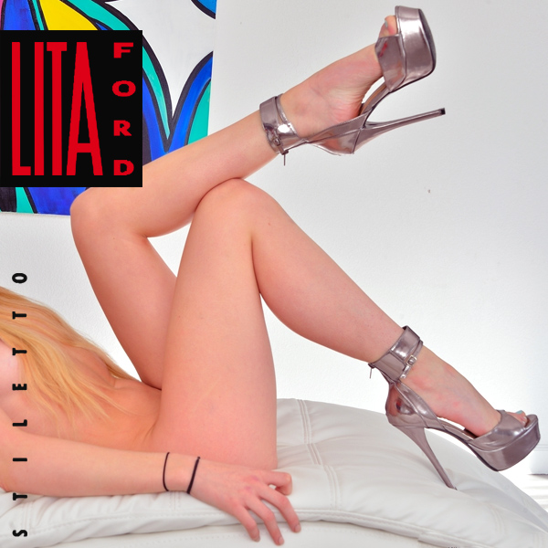 Cover Artwork Remix of Lita Ford Stiletto