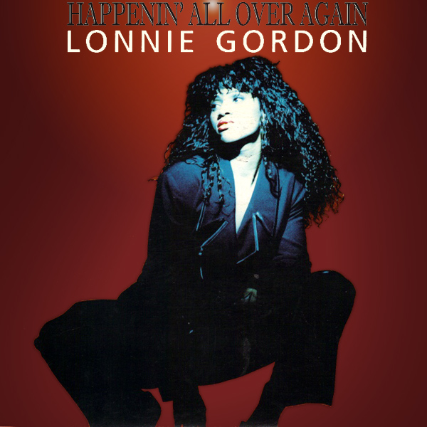 Original Cover Artwork of Lonnie Gordon Happenin All Over Again
