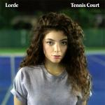 Original Cover Artwork of Lorde Tennis Court