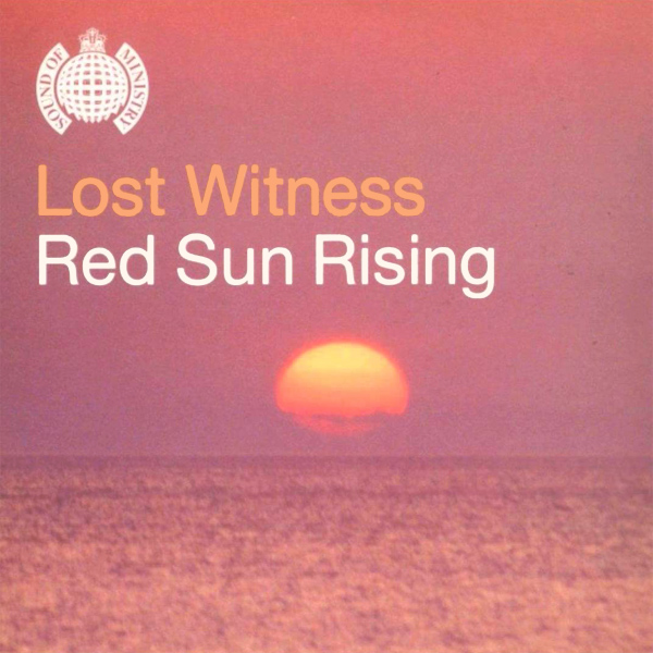 Original Cover Artwork of Lost Witness Red Sun Rising