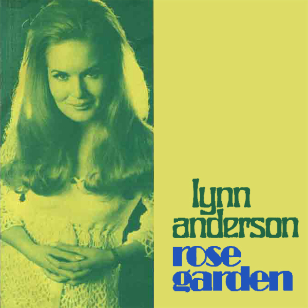 Original Cover Artwork of Lynn Anderson Rose Garden
