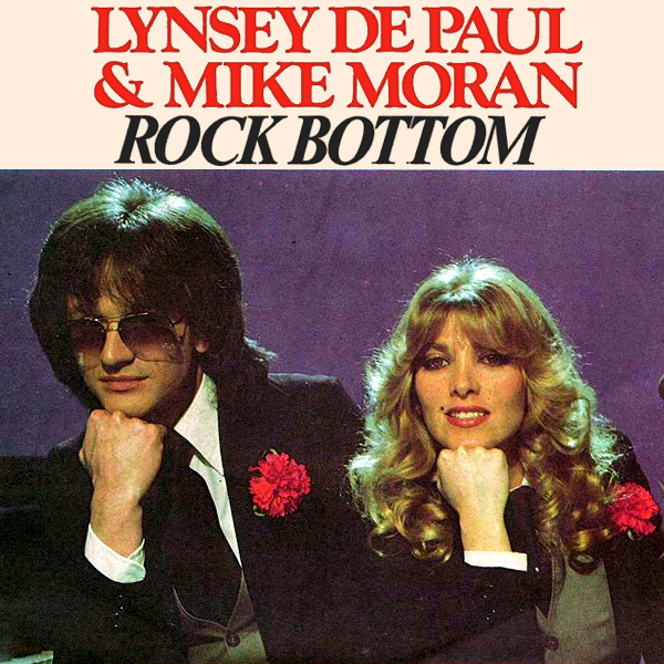 Original Cover Artwork of Lynsey De Paul Rock Bottom