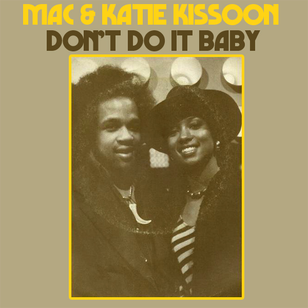 Original Cover Artwork of Mac Katie Kissoon Dont Do It Baby