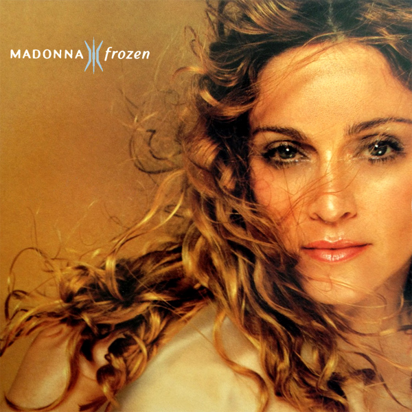 Original Cover Artwork of Madonna Frozen