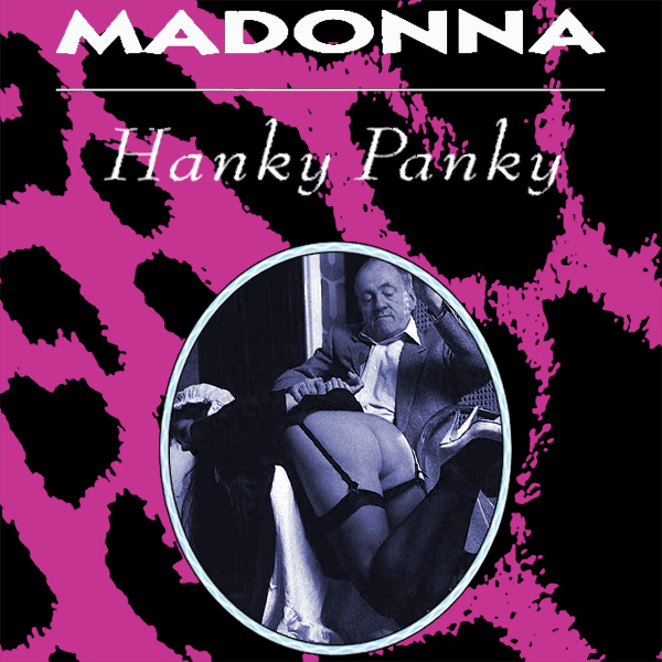 Cover Artwork Remix of Madonna Hanky Panky
