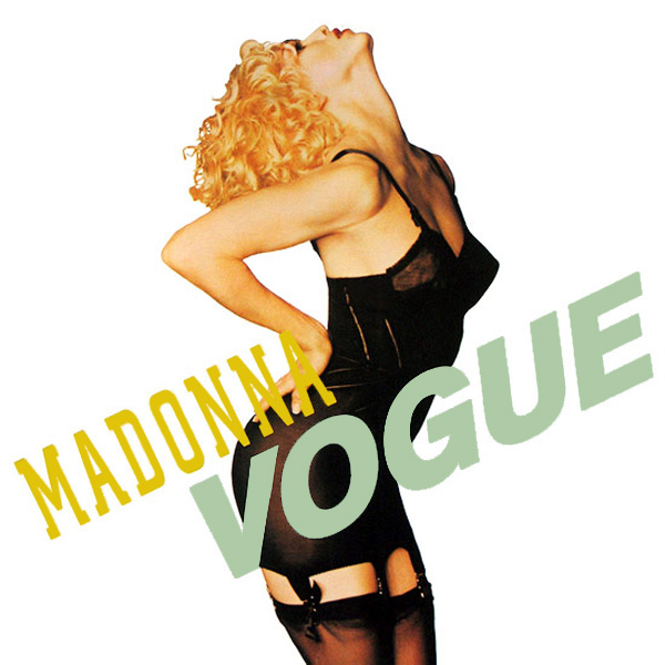Original Cover Artwork of Madonna Vogue