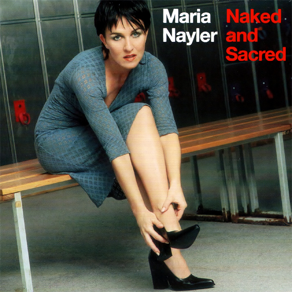 Original Cover Artwork of Maria Nayler Naked And Sacred