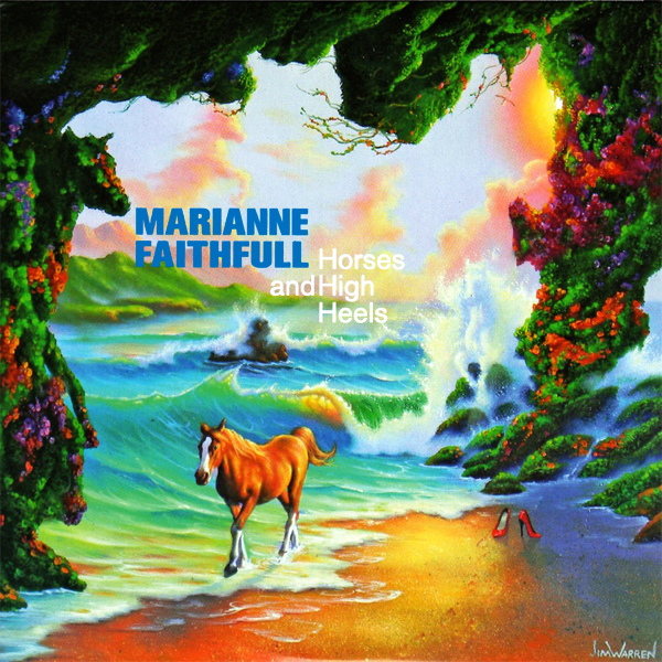 Original Cover Artwork of Marianne Faithfull Horses And High Heels