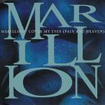 Original Cover Artwork of Marillion Cover My Eyes