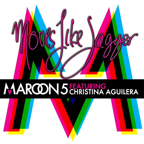 maroon 5 moves like jagger 1