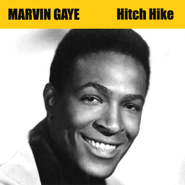 Original Cover Artwork of Marvin Gaye Hitch Hike