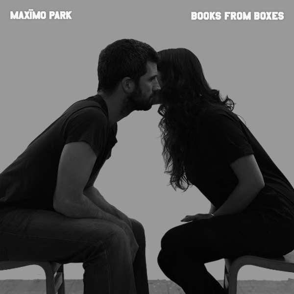 Original Cover Artwork of Maximo Park Books From Boxes