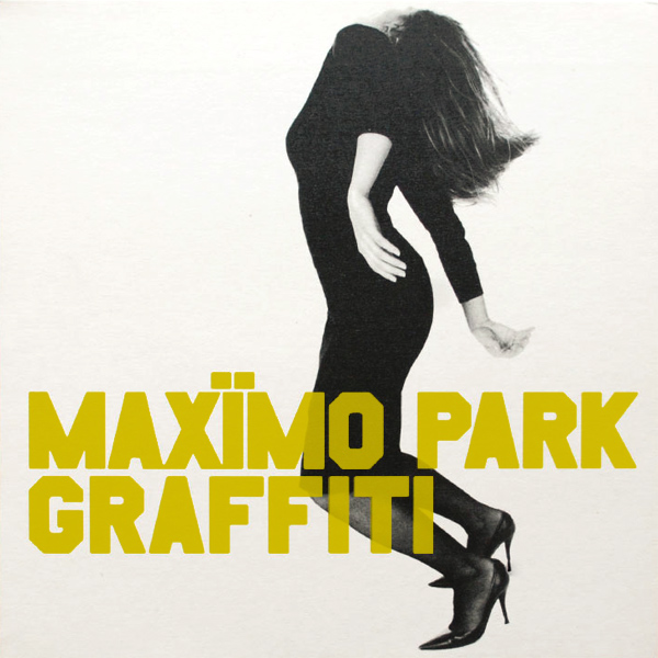 Original Cover Artwork of Maximo Park Graffiti