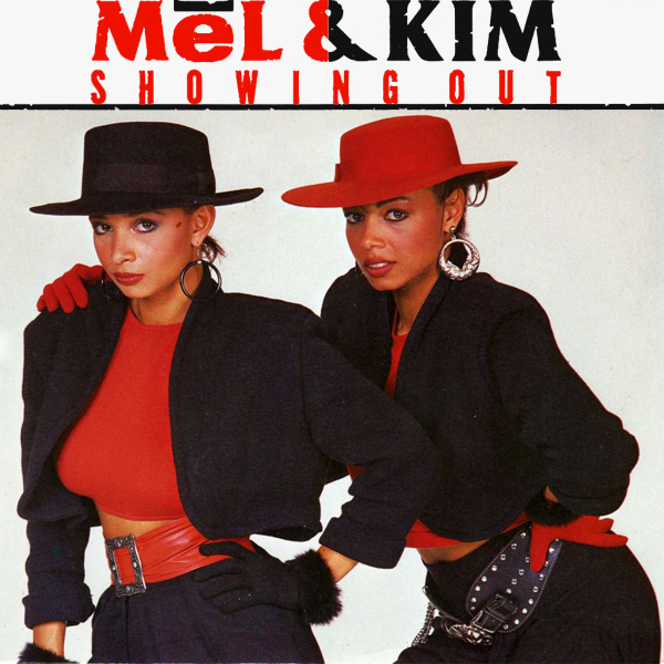 mel and kim showing out 1